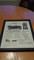 1917 OLD MAGAZINE PRINT AD, AMES, PLEASURE BODIES FOR FORDS, MAK