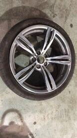 Bmw f10 m5 genuene wheel