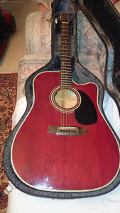 RARE EARLY 90'S TAKAMINE EF350MCR ACOUSTIC/ELECTRIC GUITAR London Ontario image 10