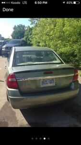 Chevy Malibu selling as is  London Ontario image 4