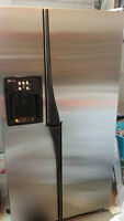 RARE Maytag Wide (Side) by Side Stainless Fridge