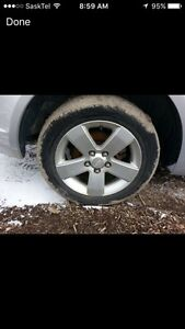 Looking for 16 inch alloy rims Moose Jaw Regina Area image 1