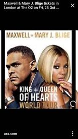 Mary J At 02 London 28th oct