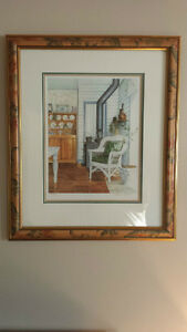 """Professionally Framed """"Family Treasures"""" by Laura Berry Kitchener / Waterloo Kitchener Area image 1"""