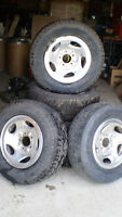 235 70 R16 Tires and Rims