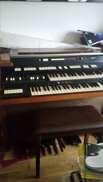 Hammond Organ and Stool