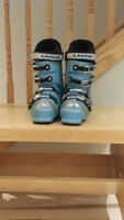 Blue Thermo Fit Lange Team Pad ski boots