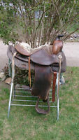 "15"" Western Saddle (Great for colt starting)"