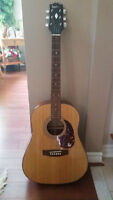 GIBSON EPIPHONE MODEL PR650 ACOUSTIC GUITAR