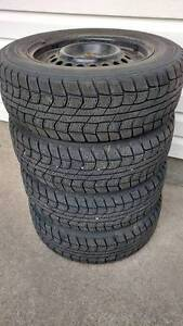 """195/65/R15"""" Dunlop winter tires (4) with mountain snowflake"""