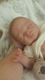 Limited edition reborn baby teddie