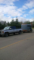 Do you need a truck & trailer to help you move or horse's moved?