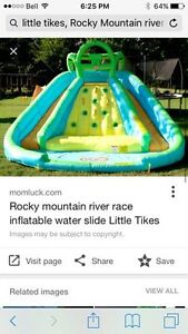 "Little tykes ""tikes"" jump water slide"