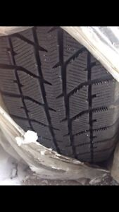 "Winter snow tires 16"" on rims! New price**"