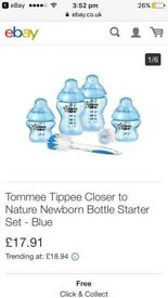 All Brand new baby bottles & dummies