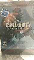 Call Of Duty Ghosts Steelcase Hardened Edition Sealed NEW!