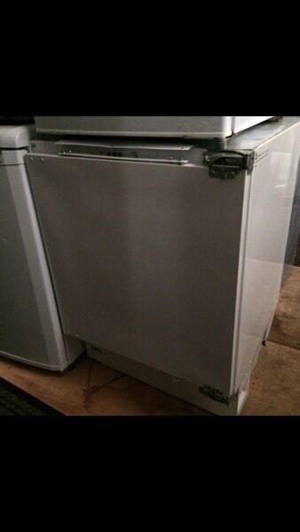 White proline undercounter integrated freezer good condition with guarantee bargain