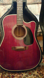 RARE EARLY 90'S TAKAMINE EF350MCR ACOUSTIC/ELECTRIC GUITAR London Ontario image 2
