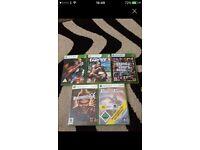 X box 360 games x5