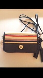 Coach PENNY Crossbody purse - Navy Multi Colour Kitchener / Waterloo Kitchener Area image 1