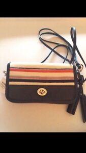 Coach PENNY Crossbody purse - Navy Multi Colour