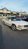 1992 Cadillac DeVille beige canvas Coupe (2 door)
