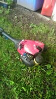 weed eater like new need gone asap moving!!!