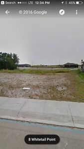 Lot for sale, 5 Whitetail point. Mundare Ab Strathcona County Edmonton Area image 1