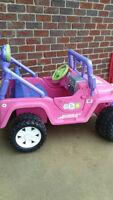 Barbi electrick car