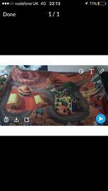 Disney car play mat