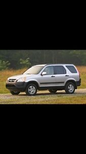Recherche Honda Cr-V + Rav4! Peu importe condition!