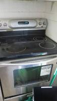 Stainless Steel Kitchen Aid oven/range