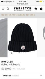 Moncler hat not polo stone island versace armani