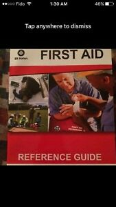 Reference guide first aid book