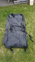 CANVAS ROOF LUGGAGE BAG