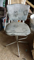 Vintage Chair with Foot Rest