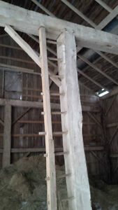 Hand Hewn Barn Beams. Hundreds to choose from! Kitchener / Waterloo Kitchener Area image 2