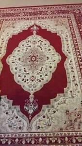 Large Red & Cream Rugs Meadowbrook Logan Area Preview
