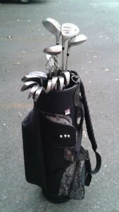 14 pc womens l/h wilson Pro Staff  golf clubs almost  like new