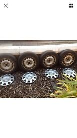 """14"""" wheels and tyres"""