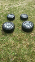 Lawn Mower Rims and tires