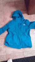 Large north face 3 in 1 triclimate jacket
