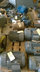 LOT OF ELECTRIC MOTORS FOR SALE
