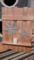 Rustic, deco Wall hanging, for keys, mitts, etc..