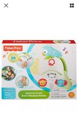 3 in 1 car seat pram toy mobile fisher price baby gift