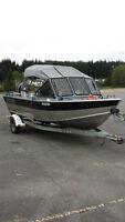 2006 North River Seahawk Aluminum Fishing Boat