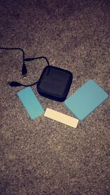JAM speaker with charger, 3 portable chargers comes with charger