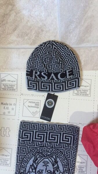 4484658dea7 ... promo code for versace hat and scarf set eb4fa 23b64