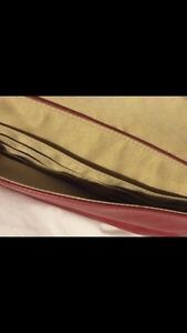 RED COACH CLUTCH FOR SALE London Ontario image 3