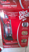 Dirt Devil UD70105B DD Breeze Cyclonic Upright Vacuum Cleaner